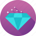 diamond, gemstone, investment, jewelry icon icon