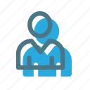 avatar, business, people, user icon icon
