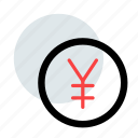 coin, currency, finance, poind, yen, ypk icon icon