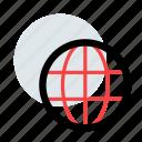 earth, globe, international, web icon icon