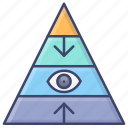career, level, pyramid, structure