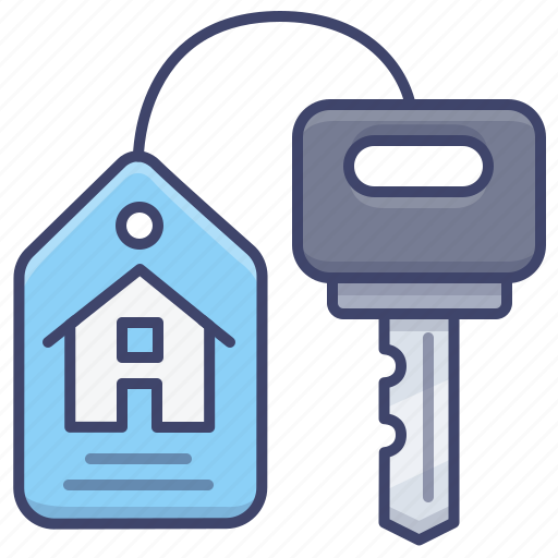 Estate, house, key, real icon - Download on Iconfinder