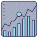exchange, market, stock, trade icon