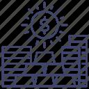 asset, capital, finance, property icon