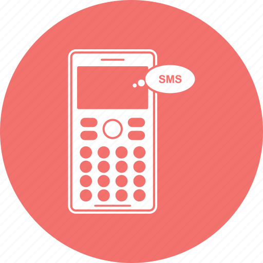 message, mobile, phone, sms send icon