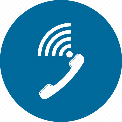 call, contact, phone, telephone, wifi icon