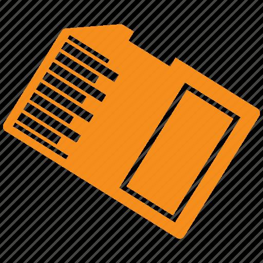 card, memory, memory card icon