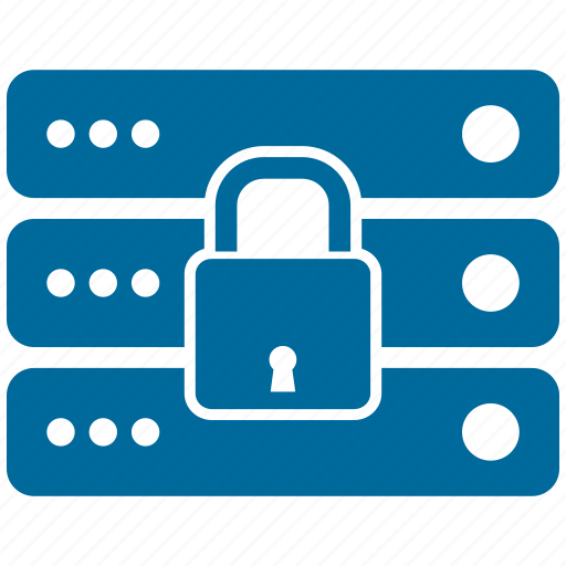 communication, connection, contact, lock, server icon