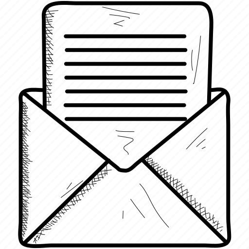 mail, message, open icon