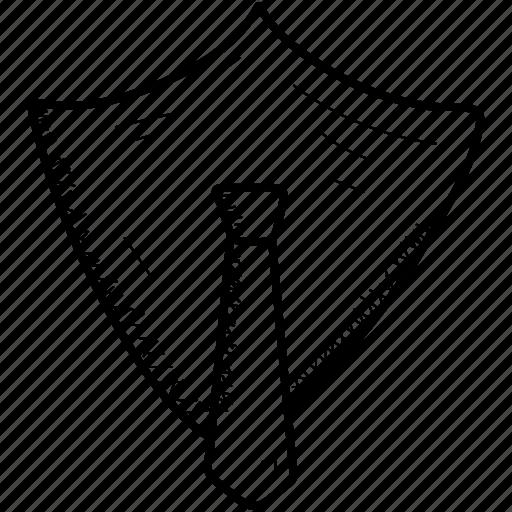 antivirus, security, shield, tie icon