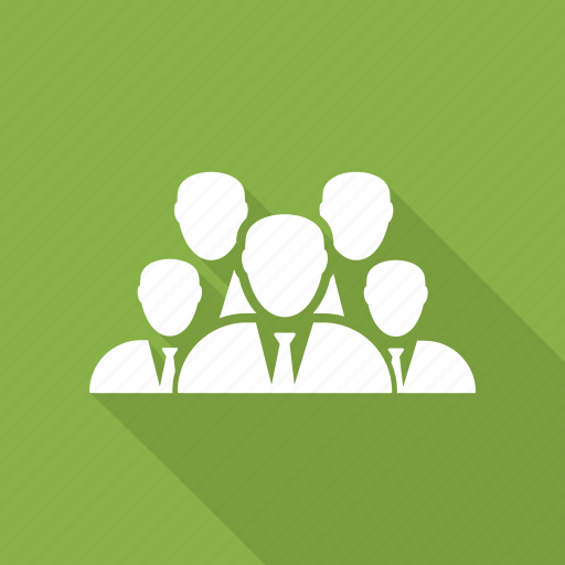 customers, five, group, people, team, teamwork icon