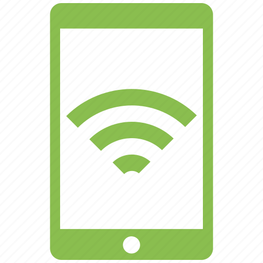 cell phone, mobile, phone, wifi icon