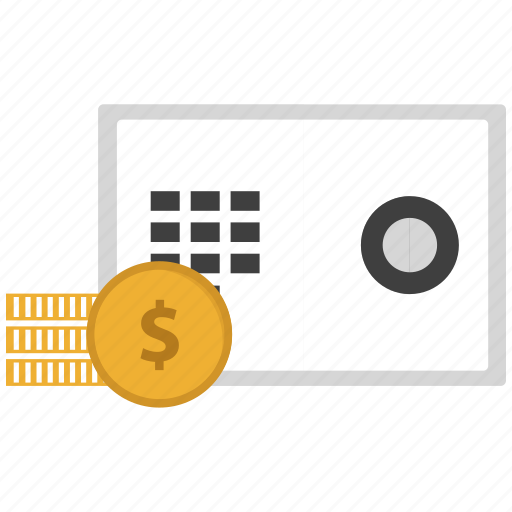 Bank, locker, money, safe icon - Download on Iconfinder
