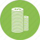 cash, coin, dollar, money