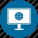 computer, device, earth, monitor, pc