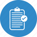 check, list, notepad icon
