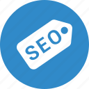 label, price, seo, tag icon