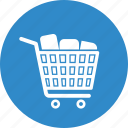 bag, cart, shop, shopping cart icon
