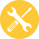 fix, settings, tools icon