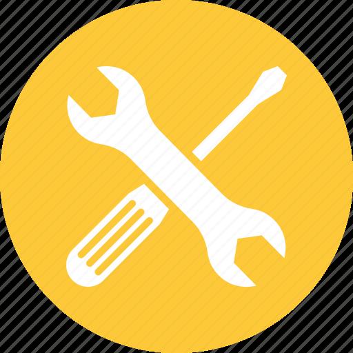 fix, settings, tools icon