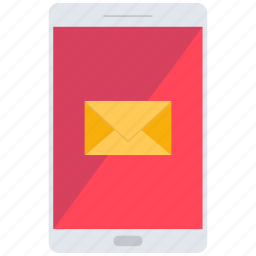email, letter, mail, mobile, phone, send icon
