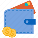 atm, cash, coin, dollar, finance, money, wallet icon