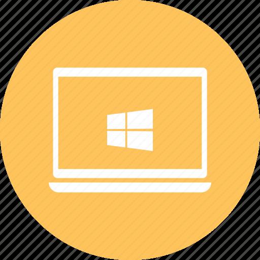 laptop, laptop pc, macbook, notebook, window icon