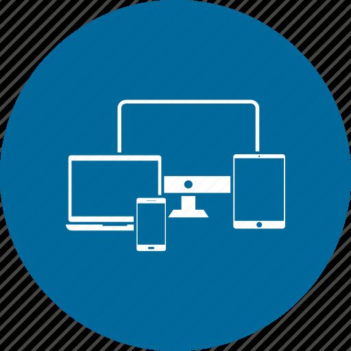 display, laptop, mobile, monitor, screen, tv icon