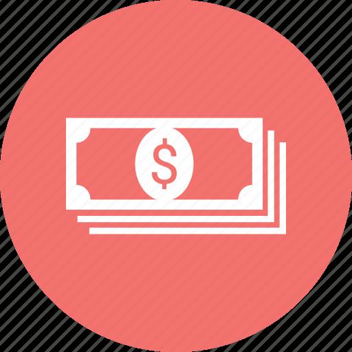 bill, dollar, money, note icon