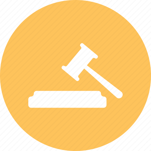hammer, law, tool icon