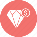 best, diamond, dollar, premium, quality icon