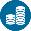 coin, dollar, finance, money icon