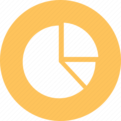 analytics, chart, pie chart icon