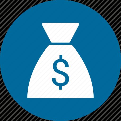 bag, commerce, dollar, money icon
