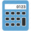 accounting, calculation, calculator, math icon