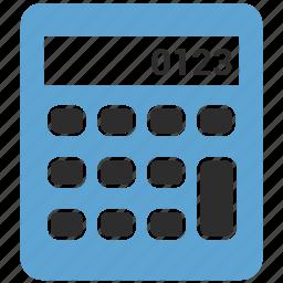 accounting, calculation, calculator, math icon