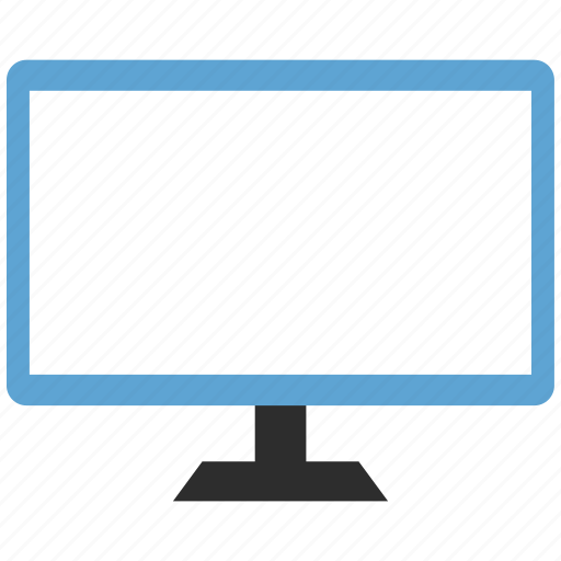 computer, desctop, monitor icon