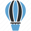 air, air balloon, aircraft, balloon, balloons, hot icon