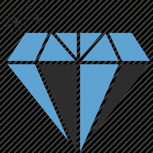 diamond, jewerly, luxury, stone icon