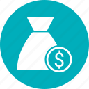 bag, dollar, money icon