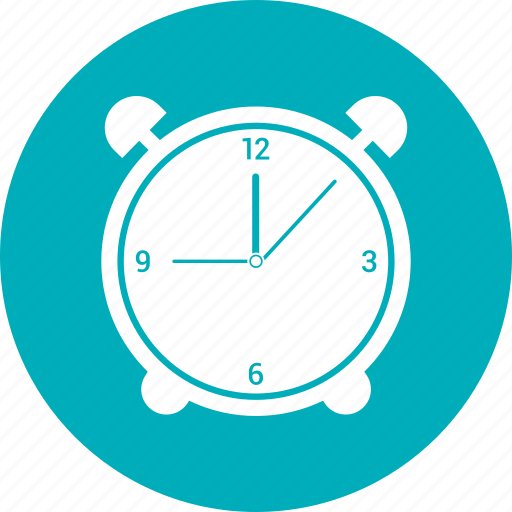 alarm, alert, clock icon