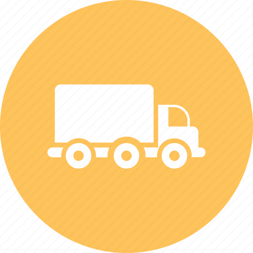 box truck, logistics truck, transport truck, truck icon