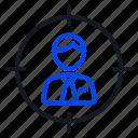 client, marketing, target