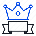 banner, exclusive, premium icon