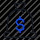 bag, finance, payment