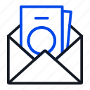envelope, finance, salary icon