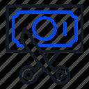 commission, saving, tax icon
