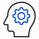 artificial, brainstorming, intelligence icon