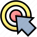 area, business, click, cursor, financial, focus, target