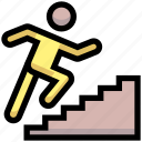 business, financial, going, people, stairs, up
